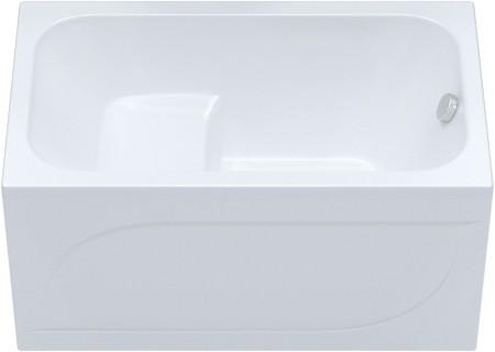 Сидячая акриловая ванна Арго 1200 на 700 фото