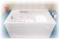 Сидячая акриловая ванна Арго 1200 на 700 фото - 7