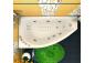 Гидромассажная ванна Бэлла (правая) 1400 на 760 фото - 4