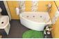 Акриловая ванна Бэлла (левая) 1400 на 760 фото - 5