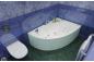 Акриловая ванна Изабель (левая) 1700 на 1000 фото - 8