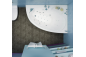 Акриловая ванна Изабель (левая) 1700 на 1000 фото - 9