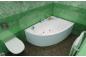 Акриловая ванна Кайли (левая) 1500 на 1010 фото - 7