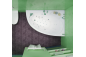 Акриловая ванна Кайли (левая) 1500 на 1010 фото - 8