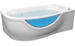 Гелькоутная гидромассажная ванна Милена (левая) 1700 на 940 фото