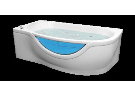 Гелькоутная ванна Милена (правая) 1700 на 940 фото