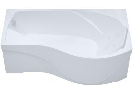 Акриловая ванна Мишель 170 (левая) 1700 на 960 фото