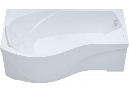 Акриловая ванна Мишель 170 (правая) 1700 на 960 фото