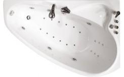 Гидромассажная ванна Пеарл-шелл (левая) 1600 на 1040 фото