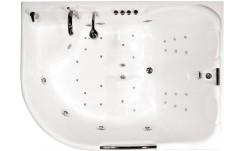 Гидромассажная ванна Респект (левая) 1800 на 1300 фото