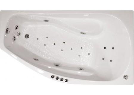 Гидромассажная ванна Скарлет (левая) 1670 на 960 фото