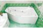 Акриловая ванна Скарлет (левая) 1670 на 960 фото - 6