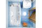 Гидромассажная ванна Валери 1700 на 850 фото - 3