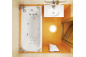 Гидромассажная ванна Вики 1600 на 750 фото - 3