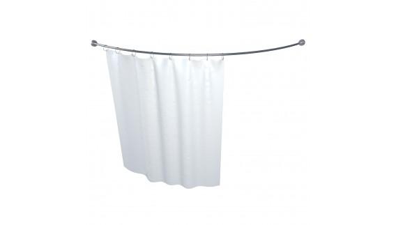 Карниз для шторы к ванне Троя 1500 на 1500 фото