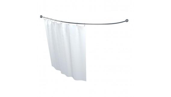 Карниз для шторы к ванне Кайли 1500 на 1010 фото