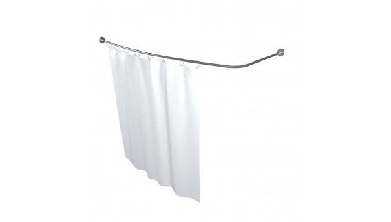 Карниз для шторы к ванне Лайма 1600 на 950 фото