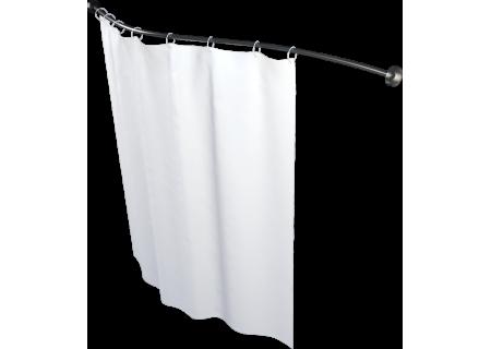 Карниз для шторы к ванне Мишель 180 см прямой, по форме ванны 1800 на фото