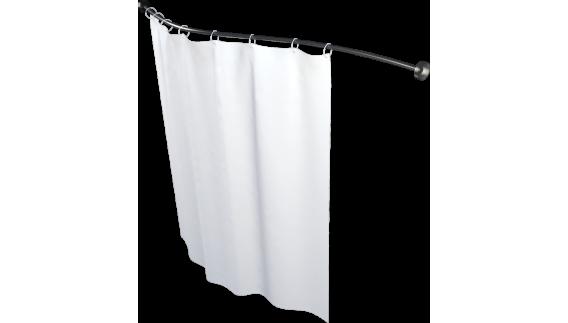Карниз для шторы к ванне Мишель 170 см прямой, по форме ванны 1700 на фото