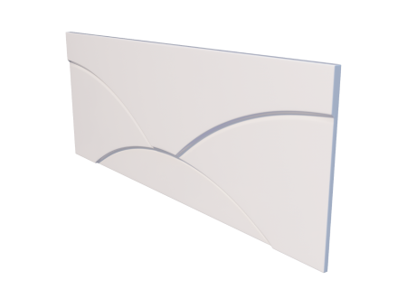 Лицевой экран для ванны Тритон Вики 1600 на фото