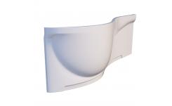 Лицевой экран для ванны Тритон Мишель 170 см (правый) на фото