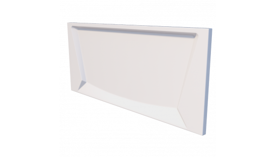Лицевой экран для ванны Тритон Стандарт 130 см 1300 на фото