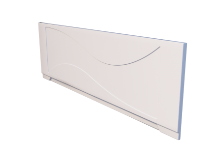 Лицевой экран для ванны Тритон Джулия 1600 на фото