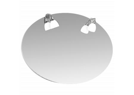 Зеркало Лира-110 с подсветкой на 1100 фото