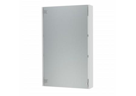 Зеркальный шкаф Эко-50 белый на 500 фото