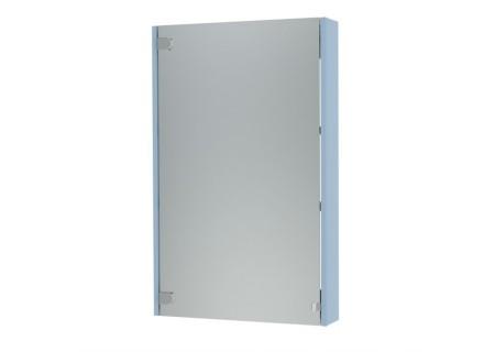 Зеркальный шкаф Эко-50 голубой на 500 фото