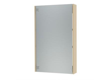 Зеркальный шкаф Эко-60 бежевый на 600 фото