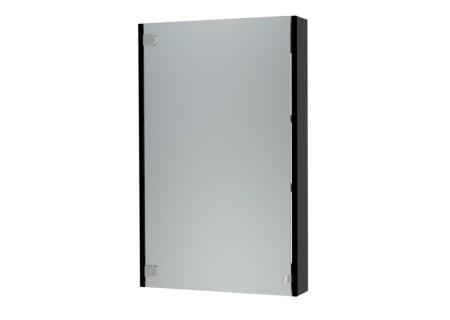 Зеркальный шкаф Эко-60 черный на 600 фото