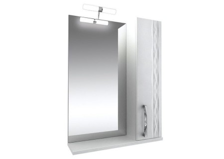 Зеркало Кристи-55 подсв., шкаф. (правое) на 551 фото