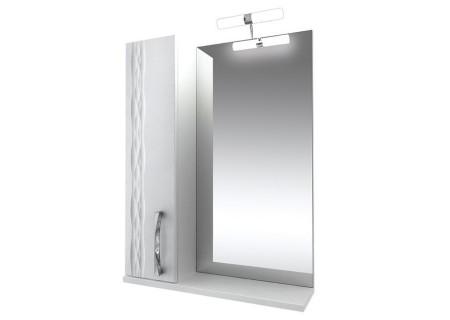 Зеркало Кристи-55 подсв., шкаф. (левое) на 551 фото