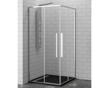 Душевой уголок квадратный с 2 раздвижными дверями RGW Stilvoll SV-31